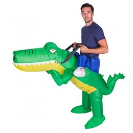 Inflatable Costumes Wholesale Inflatable Ride On Alligator Costume for Party