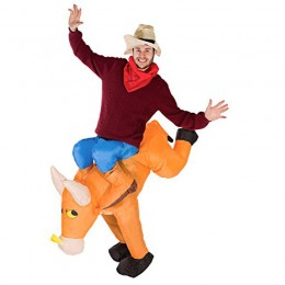 Inflatable Costumes Wholesale Inflatable Ride On Bull Rider Costume for Party