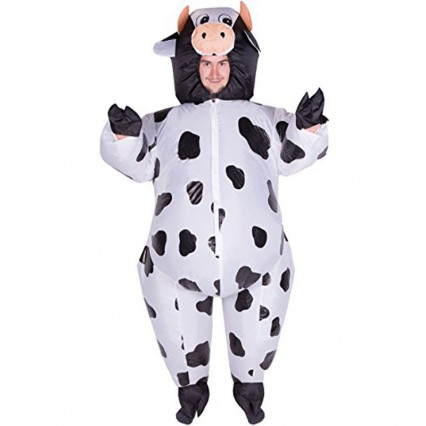 Inflatable Costumes Wholesale Inflatable Ride On Cow Costume​ for Party