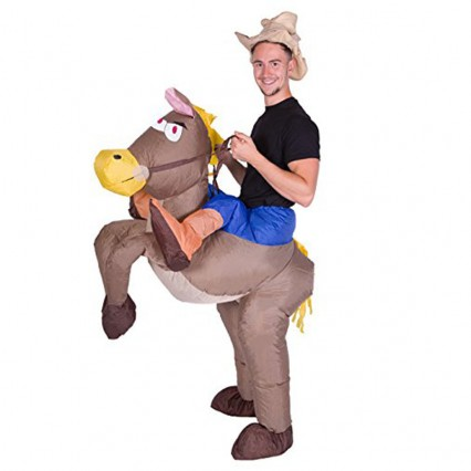 Inflatable Costumes Wholesale Inflatable Ride On Cowboy Costume for Party