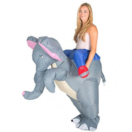 Inflatable Costumes Wholesale Inflatable Ride On Elephant Costume for Party