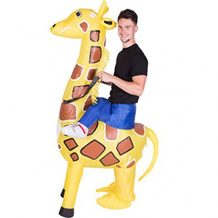 Inflatable Costumes Wholesale Inflatable Ride On Giraffe Costume for Party