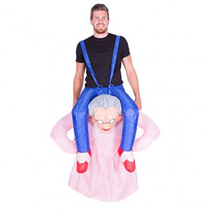 Inflatable Costumes Wholesale Inflatable Ride On Grandma Costume for Party
