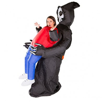 Inflatable Costumes Wholesale Inflatable Ride On Grim Reaper Costume for Party