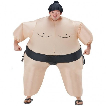 Inflatable Costumes Wholesale Inflatable Ride On Sumo Wrestler Costume for Party