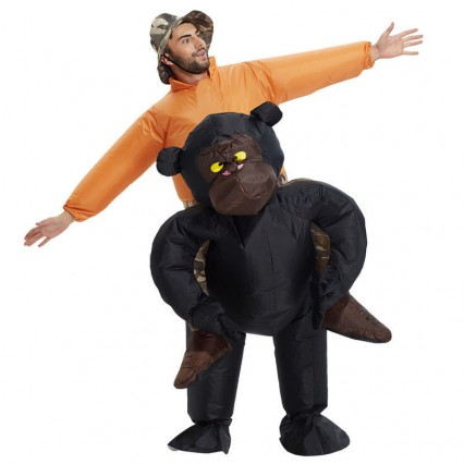 Inflatable Costumes Wholesale Riding Gorilla Inflatable Costumes for Party
