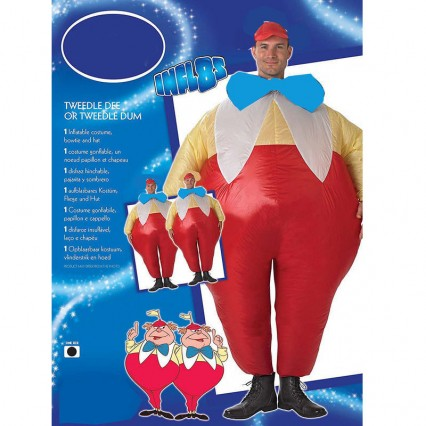 Inflatable Costumes Wholesale Inflatable Costumes Tweedle Dee And Tweedle Dum Costumes for Party