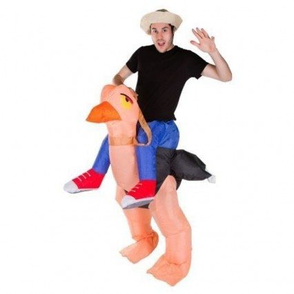 Inflatable Costumes Wholesale Ostrich Adult Inflatable Costumes for Party