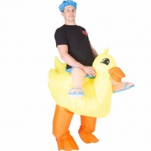 Inflatable Costumes Wholesale Cute Duck Adult Inflatable Costumes for Party