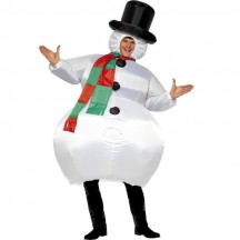 Inflatable Costumes Wholesale Snowman Adult Inflatable Costumes for Party