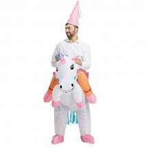 Inflatable Costumes Wholesale Unicorn Inflatable Halloween Costumes for Party