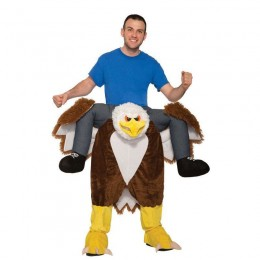 Ride On Costumes Wholesale Adult Ride an Eagle Costume Carry Me Mascot Fancy Dress for Party