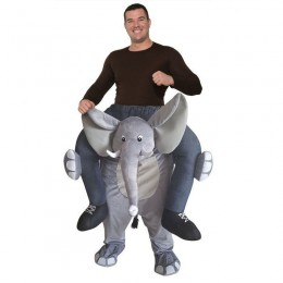 Ride On Costumes Wholesale Adult Ride an Elephant Costumes Carry Me Mascot Fancy Dress for Party