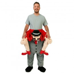 Ride On Costumes Wholesale Adult Ride a Flapper Costume Carry Me Mascot Fancy Dress for Party