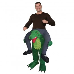 Ride On Costumes Wholesale Adult Ride a Gator Costume Carry Me Mascot Fancy Dress for Party