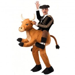 Ride On Costumes Wholesale Ride a Bull Adult Costume Carry Me Mascot Fancy Dress for Party