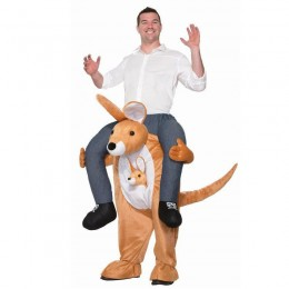 Ride On Costumes Wholesale Ride a Kangaroo Adult Costume Carry Me Mascot Fancy Dress for Party