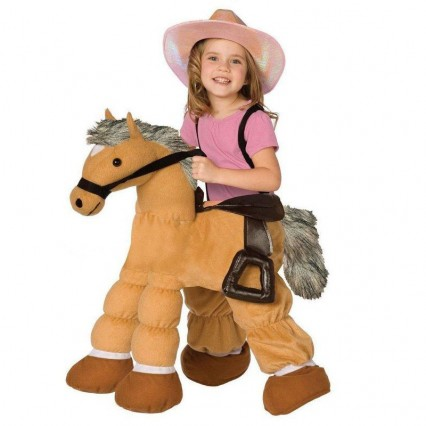 Ride On Costumes Wholesale Ride a Pony Child Costume Carry Me Mascot Fancy Dress for Party