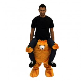 Ride On Costumes Wholesale Adult Ride a Bear Costumes Carry Me Mascot Fancy Dress for Party
