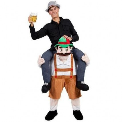 Ride On Costumes Wholesale Adult Ride On Stag Mascot Costume Carry Me Mascot Fancy Dress for Party