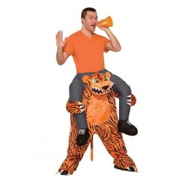Ride On Costumes Wholesale Adult Ride a Tiger on Costumes Carry Me Mascot Fancy Dress for Party