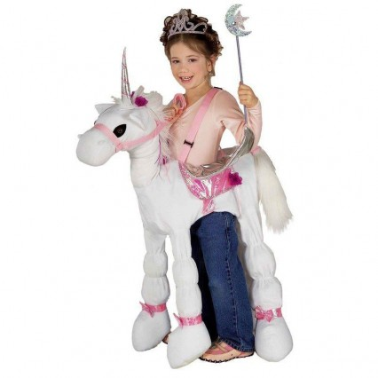 Ride On Costumes Wholesale Girls Ride-A-Unicorn Costumes Carry Me Mascot Fancy Dress for Party