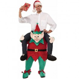 Ride On Costumes Wholesale Mens Myself On An Elf Ride On Costume Carry Me Mascot Fancy Dress for Party