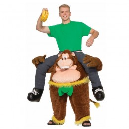 Ride On Costumes Wholesale Monkeying Around Costume Carry Me Mascot Fancy Dress for Party