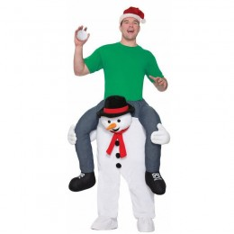 Ride On Costumes Wholesale Ride On Novelty Snowman Costumes Carry Me Mascot Fancy Dress for Party