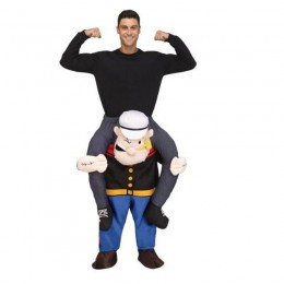 Ride On Costumes Wholesale Popeye Ride On Adult Costumes Carry Me Mascot Fancy Dress for Party