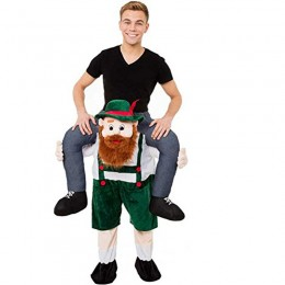 Ride On Costumes Wholesale Ride On Bavarian Beer Guy Costume Carry Me Mascot Fancy Dress for Party