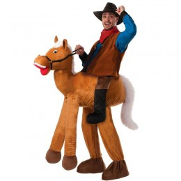 Ride On Costumes Wholesale Ride a Horse Pull-On Pants Adult Costume Carry Me Mascot Fancy Dress for Party