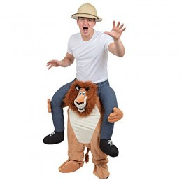 Ride On Costumes Wholesale Ride On Lion Costume Carry Me Mascot Fancy Dress for Party
