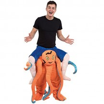 Ride On Costumes Wholesale Ride On Octopus Costumes Carry Me Mascot Fancy Dress for Party