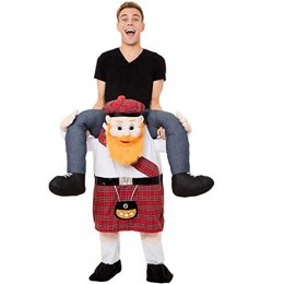 Ride On Costumes Wholesale Ride On Scotsman Costume Carry Me Mascot Fancy Dress for Party