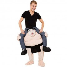 Ride On Costumes Wholesale Ride On Sumo Wrestler Costume Carry Me Mascot Fancy Dress for Party