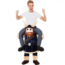 Ride On Costumes Wholesale Ride On Viking Costume Carry Me Mascot Fancy Dress for Party