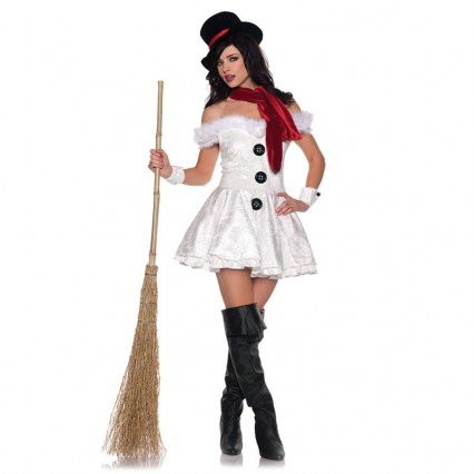 Christmas Costumes Wholesale Hot snowwoman costume Supplier from China Manufacturer Directly