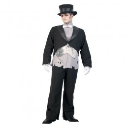 Men Halloween Costumes Wholesale Ghost Groom Costume Supplier from China Manufacturer Directly