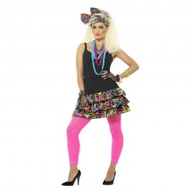 1980s 1990s Costumes Wholesale 80s Party Girl Costume Kit from China Manufacturer Directly