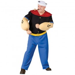Popeye Costumes Wholesale Adult Men Popeye Costumes from China Manufacturer Directly