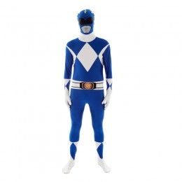 Power Rangers Costumes Wholesale Blue Power Rangers​ Morphsuit Costumes from China Manufacturer Directly