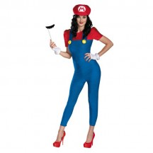 Super Mario Costumes Wholesale Womens Deluxe Mario Costume from China Manufacturer Directly
