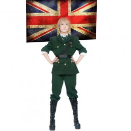 Anime and Cosplay Costumes Wholesale Axis Powers Hetalia England Arthur Kirkland Uniform from China Manufacturer Directly