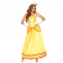 Gaming Characters Costumes Wholesale Yellow Sunflower Princess Daisy Womens Costume from China Manufacturer Directly