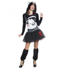Looney Tunes Costumes Wholesale Hooded Tutu Dress Adult Pepe Le Pew Costume from China Manufacturer Directly
