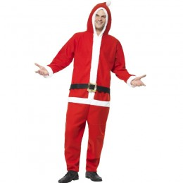 Christmas Costumes Wholesale Funny Xmas All In One Onesie Santa Christmas Costume from China Manufacturer Directly