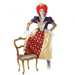 Disney Costumes Storybook Costume Wholesale Alice in Wonderland Red Queen of Hearts Womens Costume from China Manufacturer Directly