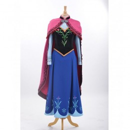 Disney Costumes Storybook Costume Wholesale Frozen Deluxe Frozen Princess Anna Womens Costume from China Manufacturer Directly
