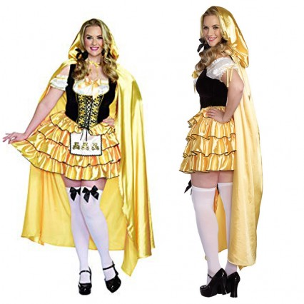 Disney Costumes Storybook Costume Wholesale Goldilocks Deluxe Goldilocks Three Bears Womens Costume from China Manufacturer Directly